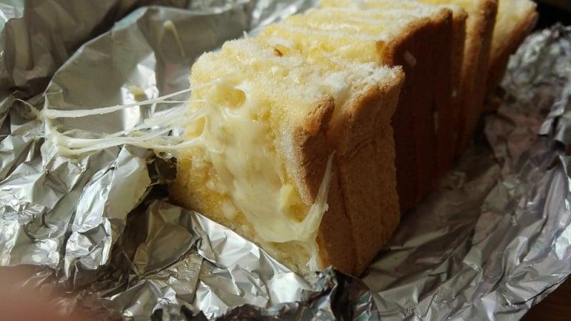 Ten minute Garlic Bread Hack