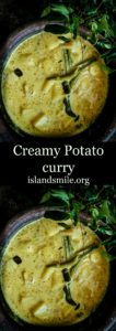 creamy potato curry image