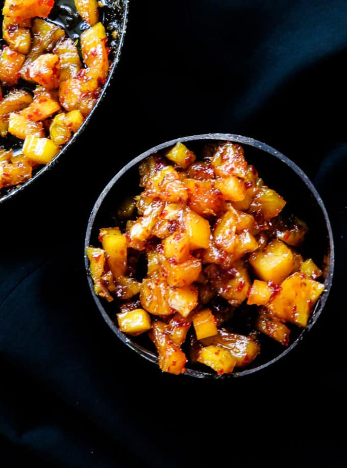 an easy, sri lankan, side dish and chutney you'll just love making for the family