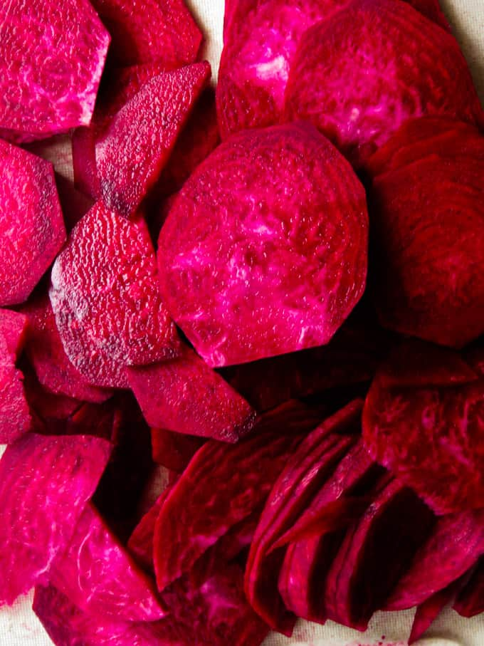 how to cut beetroot for curry.