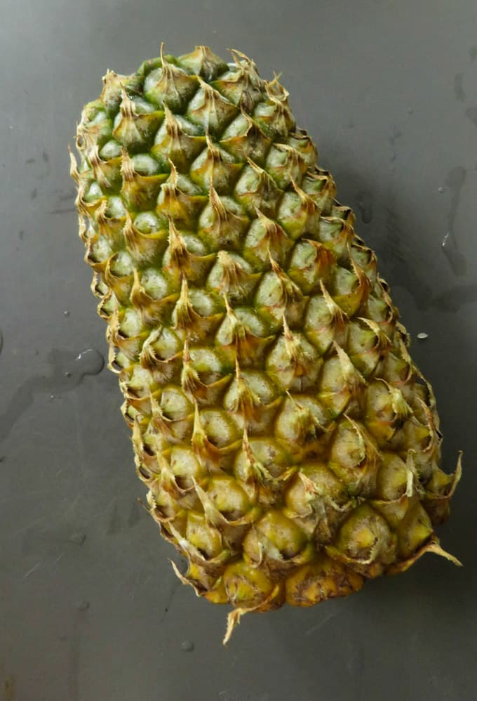 Perfect pineapple .