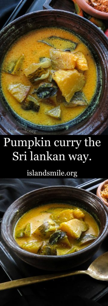 Pumpkin curry the sri lankan way image