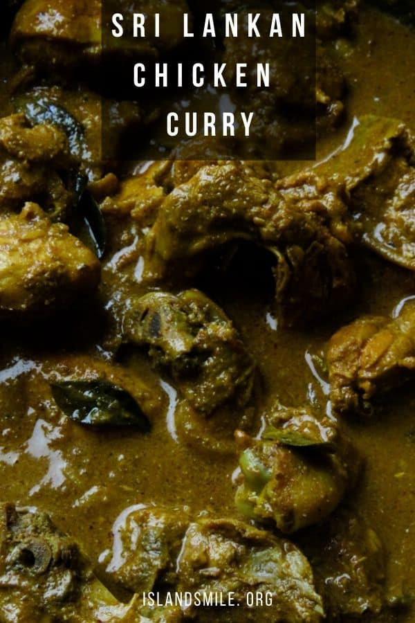 A delicious and spicy chicken curry made with Sri Lankan curry powders then cooked in coconut milk. If you want to taste Sri Lankan food at its best then try this slow-cooked chicken curry recipe.