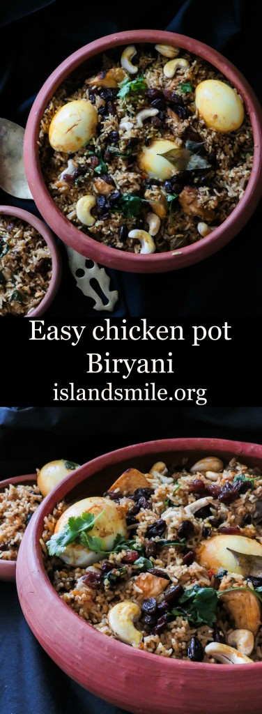 easy srilankan pot biryani