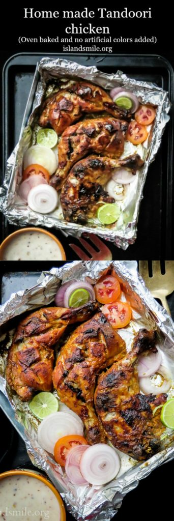 How-to-make-Tandoori- chicken- at-home-(oven-baked)-islandsmile.org