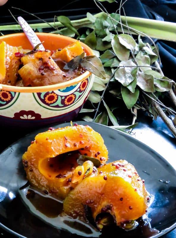 Sweet and spicy Mango curry(Sri lankan)