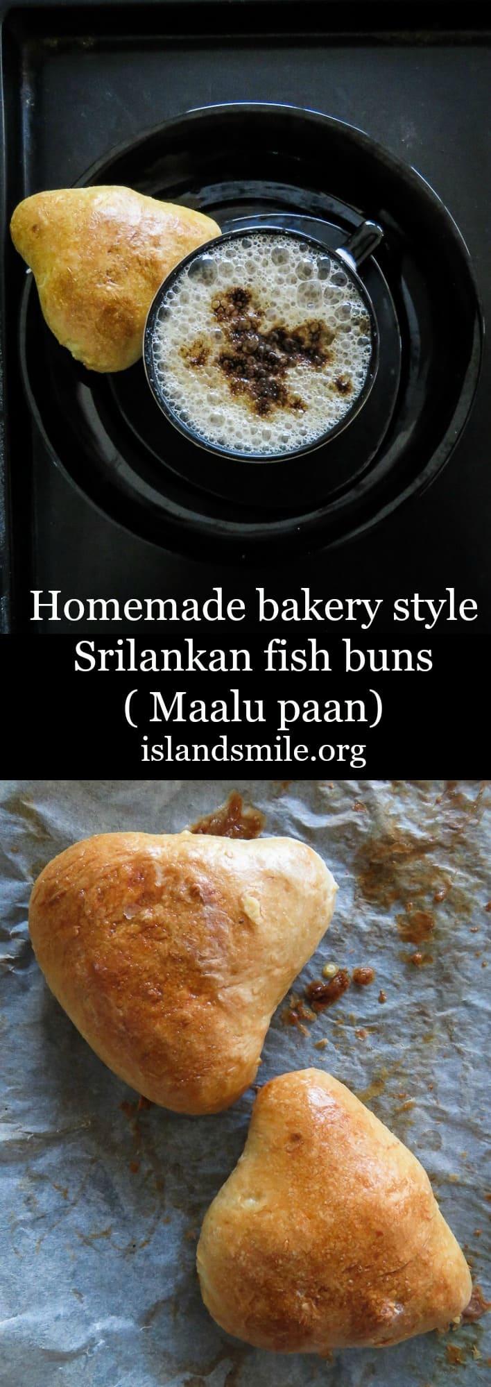 Homemade bakery style Srilankan fish buns(Maalu paan).