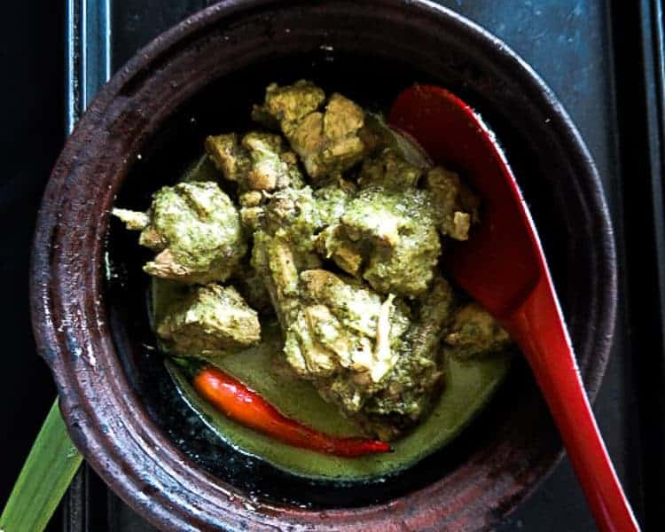 sri lankan green curry chicken-islandsmile.org-