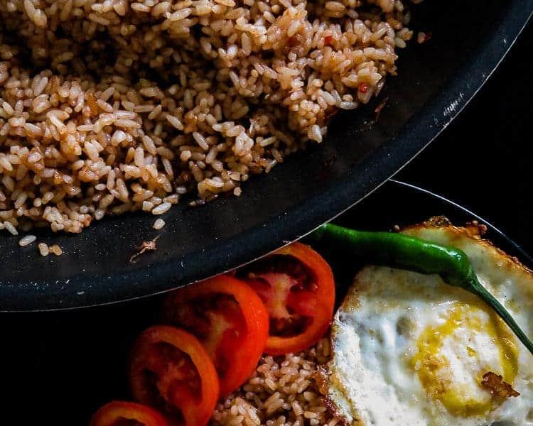 Easy Indonesian Nasi goreng(fried rice)-islandsmile.org