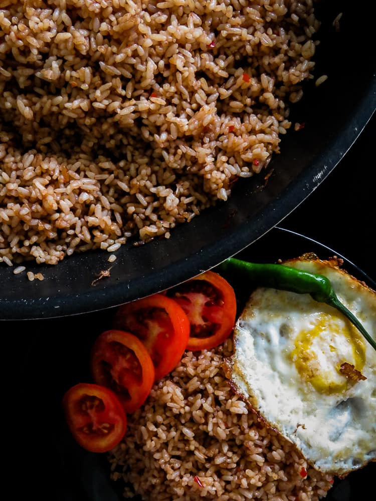 Easy Indonesian Nasi goreng(fried rice)-islandsmile.org