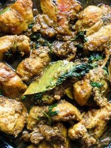 cardamom infused ginger garlic chicken(masala murgh) -islandsmile.org