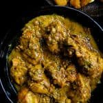 black pepper chicken with thick a yoghurt gravy-islandsmile.org