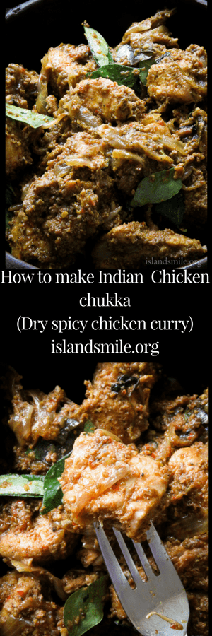 How to make a chicken chukka curry. A spicy dry Indian chicken curry with wonderful warm, spicy flavours. The restaurant style, chicken fry masala makes a wonderful addition to your weekend or party menus.