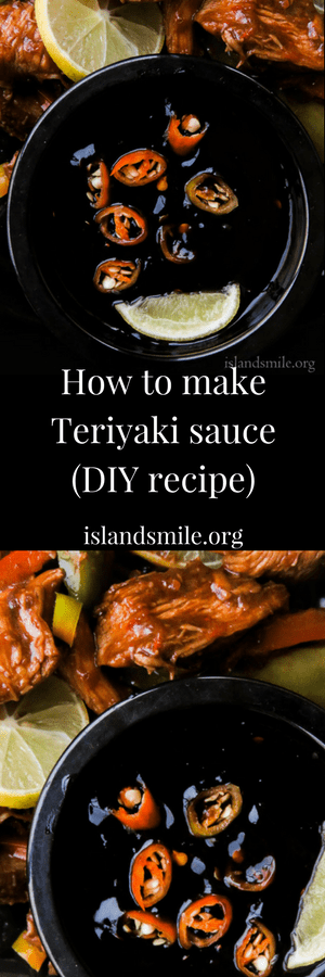 How to make a sweet and spicy teriyaki sauce(DIY recipe). It only takes five easy to find ingredients to make this easy yet versatile dark sauce. great on meats and stir-fry. #spicy #sauce #teriyaki
