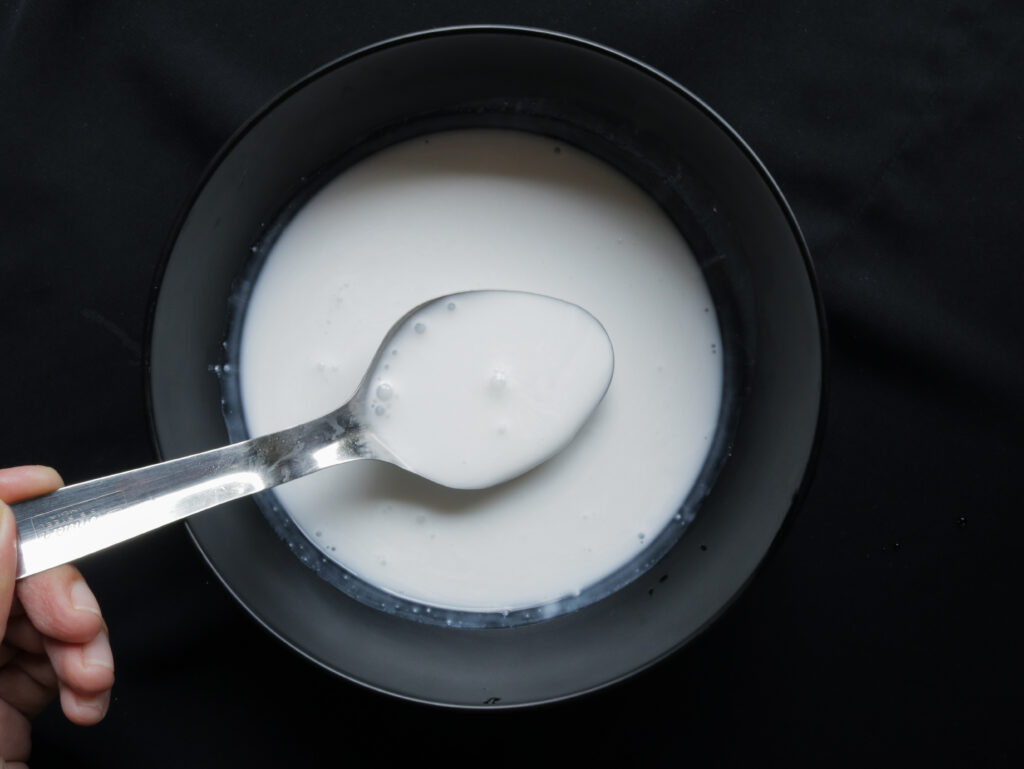 how to make thick coconut milk