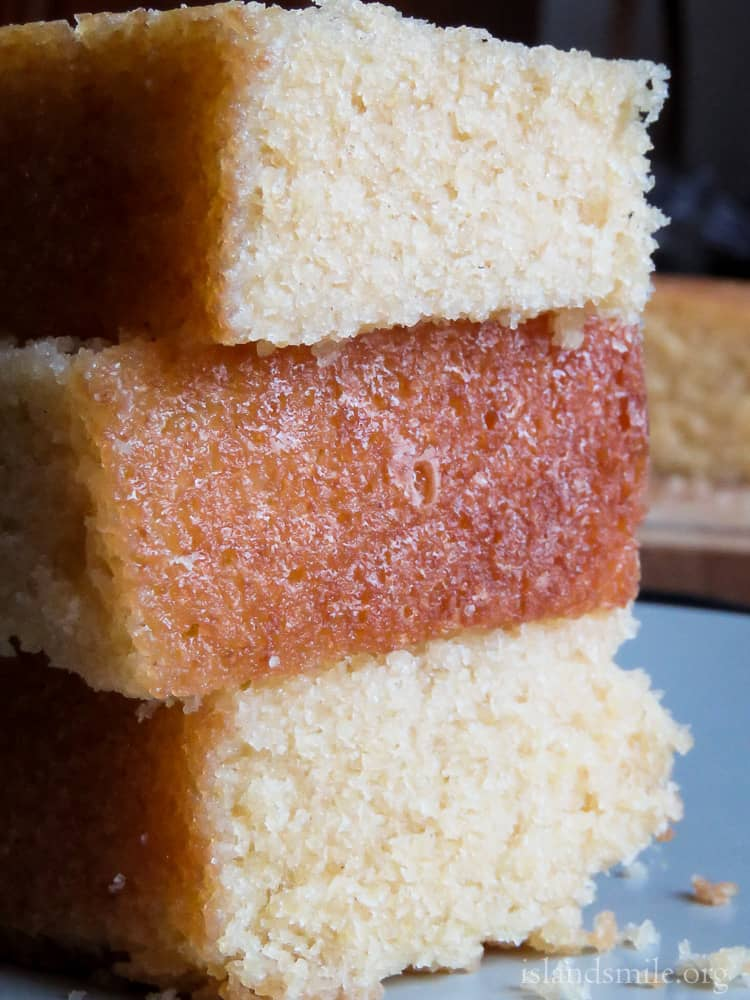 how to make a moist and fluffy Sri lankan butter cake by hand-islandsmile.org