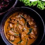 Sri Lankan beef curry, there's a reason why I think my grandmother makes the best beef curry, it's all about slow cooking the beef in spices and coconut milk, giving it the most delicious texture and taste.