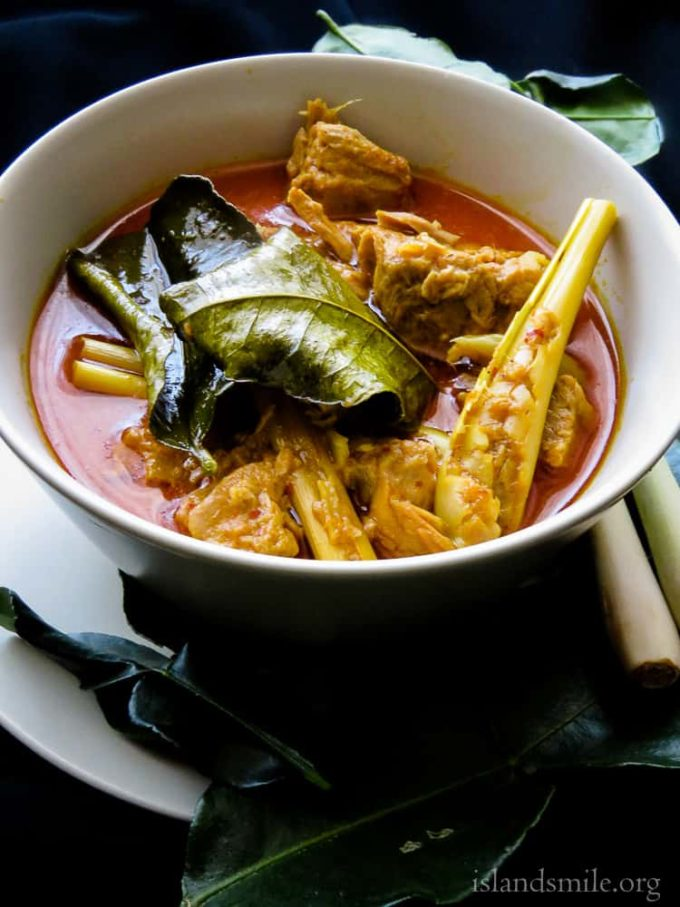 Try making this Spicy tuna fish curry.  It's inspired by Thai ingredients like lemongrass, kaffir leaves and change a curry into an Asian inspired dish with so much taste.