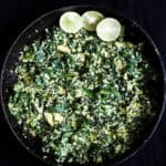 spinach and coconut mallung(no oi stir-fryl)-islandsmile.org