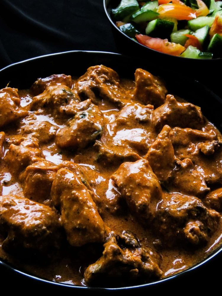 Creamy-fragrant Butter chicken( Indian murgh makhani).