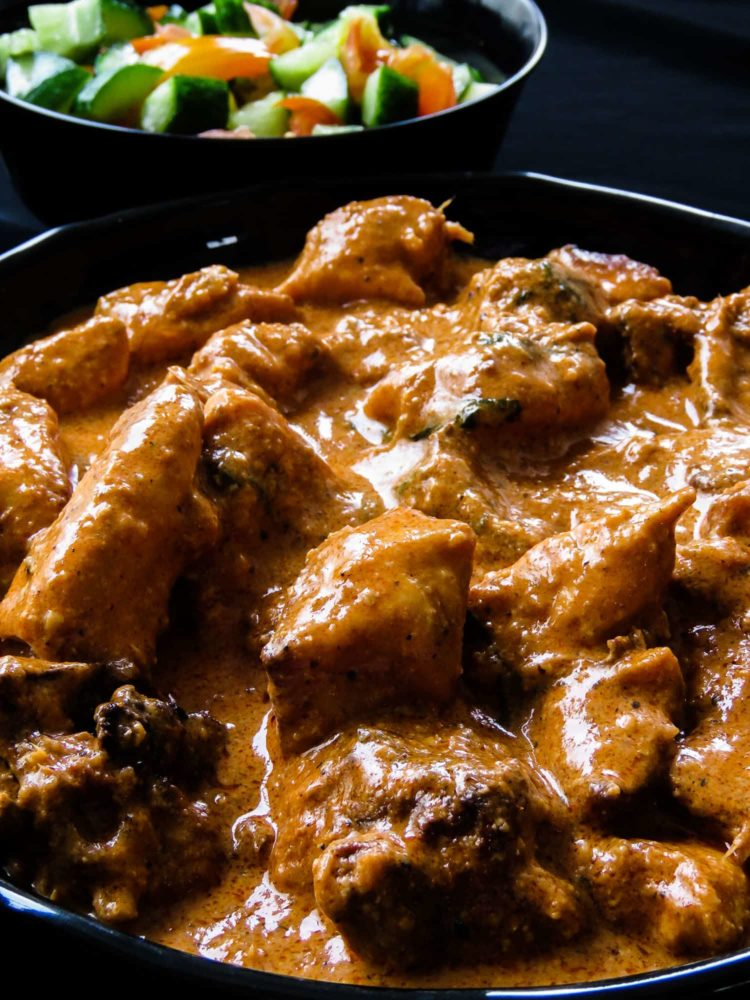 Creamy-fragrant Butter chicken(Indian chicken makhani), a step-by-step guide to show how easy it is to create this restaurant worthy popular curry. a delicious dish for any occasion from lunch to dinner or gathering of friends-islandsmile.org