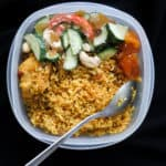 Rice cooker-school lunch box mock biryani- make this easy biryani for kids school box or pack it up for your work lunch. all you need is a rice cooker, a little prep work to make this mock biryani. Not only is this mock biryani a school lunch box meal, it's also an easy meal made in a rice cooker-islandsmile.org