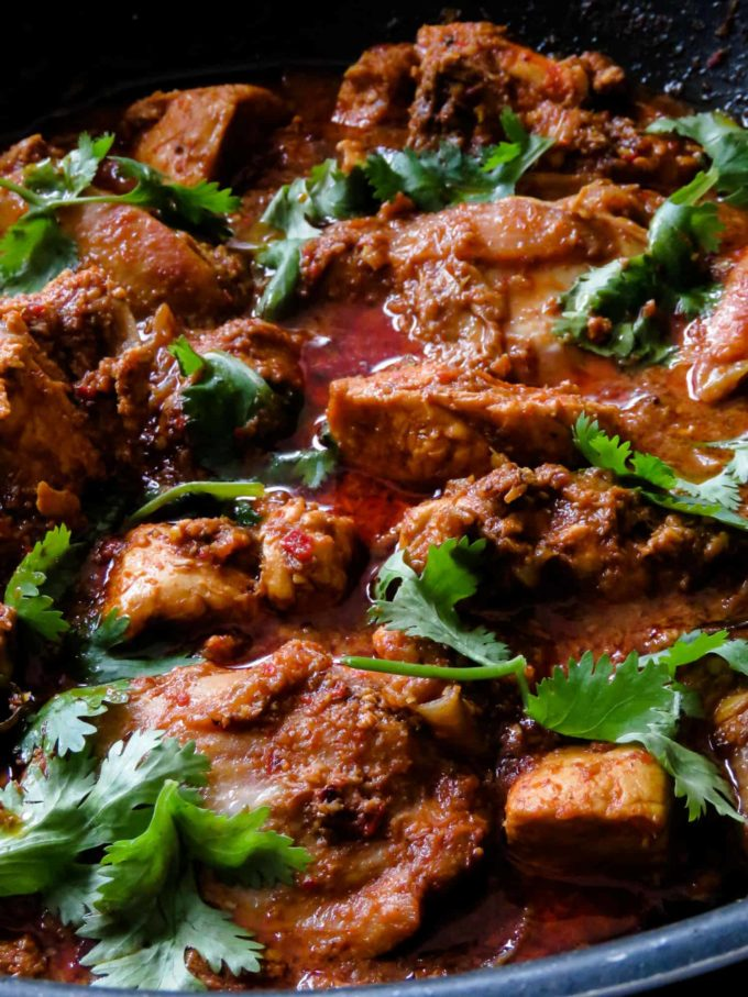 chettinad chicken curry. Make a pot of this south Indian chicken curry and bring the flavours of Indian cuisine right into your home. An elegant, spicy yet sublime in its taste.