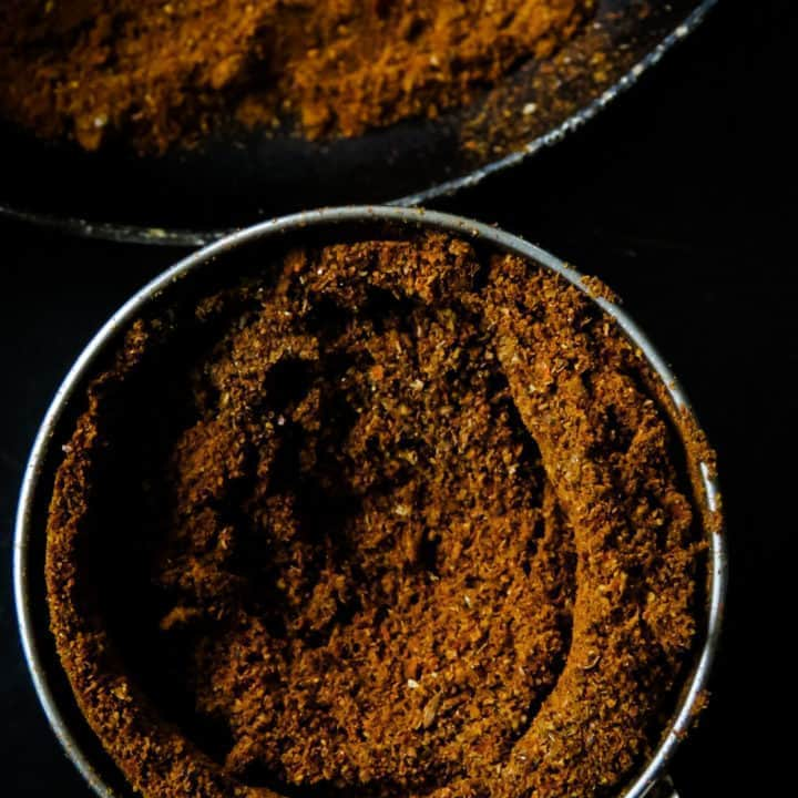 Sri Lankan Jaffna curry powder- a wonderful, aromatic all in one currypowder. If you are into deep, spicyflavors to your meat dishes then looknofurther than this spice blend. It's a must-haveon every spice loversshelf.