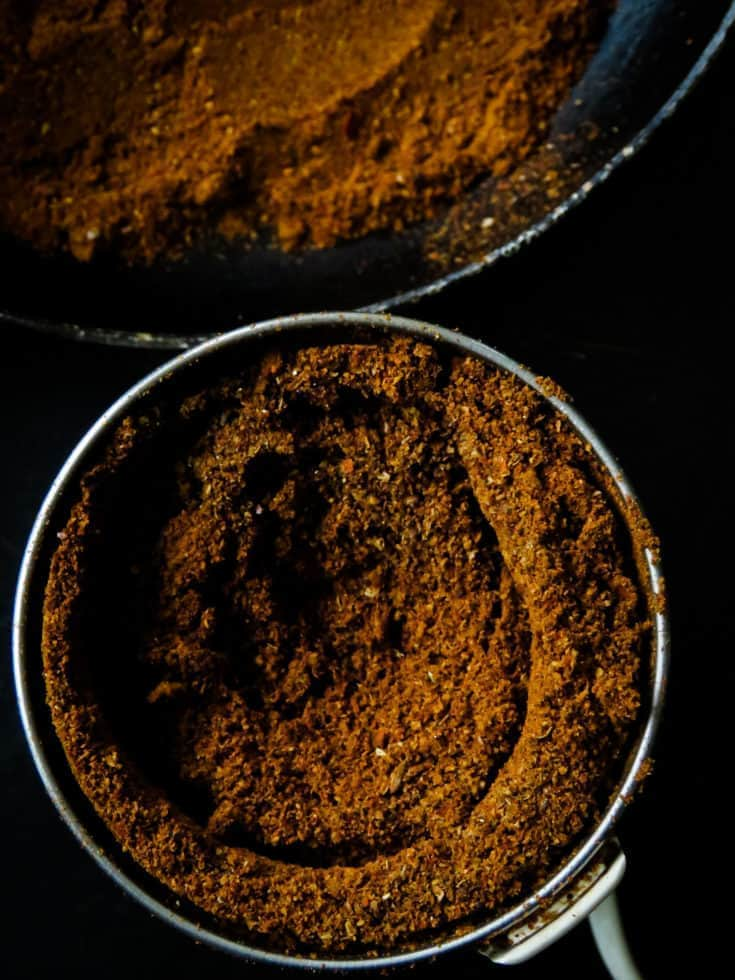 How to make Sri Lankan jaffna curry powder