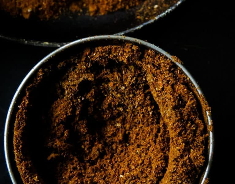 Sri Lankan Jaffna curry powder- a wonderful, aromatic all in one curry powder. If you are into deep, spicy flavors to your meat dishes then look no further than this spice blend. It's a must-have on every spice lovers shelf.