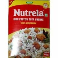 Nutrela High Protein Soya Chunks 200g (Pack of 6)