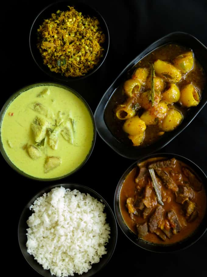 Sri lankan meal plan 7 with recipes.