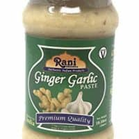 Rani Ginger Garlic Cooking Paste 10.58oz (300gm) ~ Vegan | Glass Jar | Gluten Free | NON-GMO | No Colors | Indian Origin