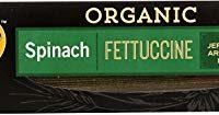 DeBoles Organic Spinach Pasta, Fettuccini, 8 Ounce (Pack of 12)