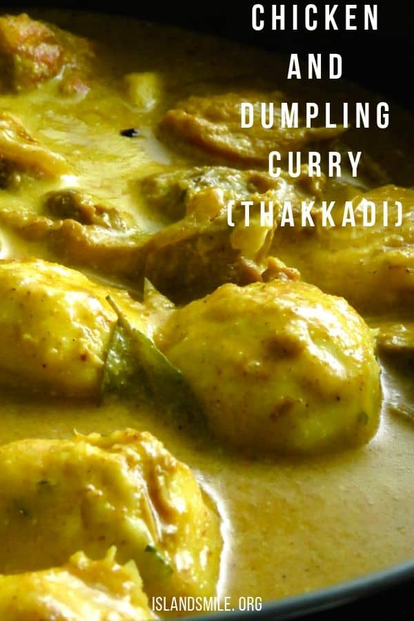 chicken and dumplings curry(thakkadi). A chicken and dumplings recipe for those of you who would love a curry version. For this chicken and dumplings recipe, I'm using a chicken curry recipe with Sri Lankan curry powders with a gravy made up of thick coconut milk. #chicken #dumplings #curry #thakkadi #sri Lankan