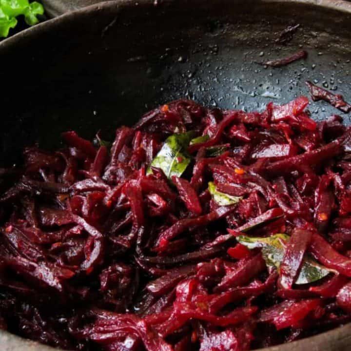 Sri lankan Beetroot Curry(vegetarian, vegan).
