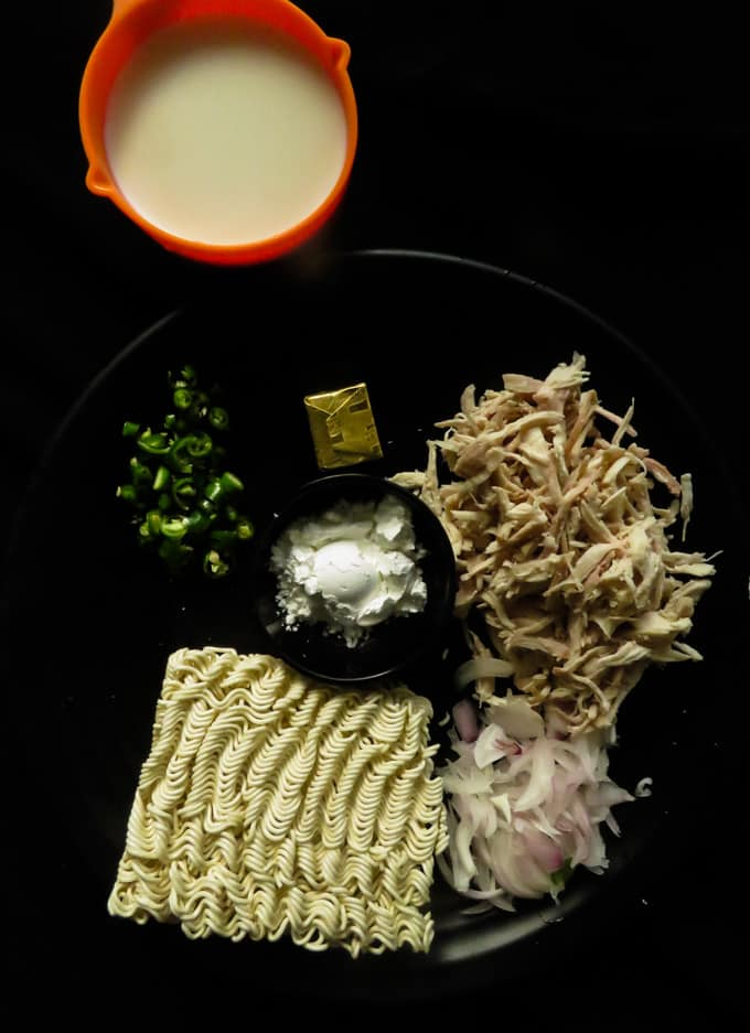 maggi noodle chicken nugget ingredients.