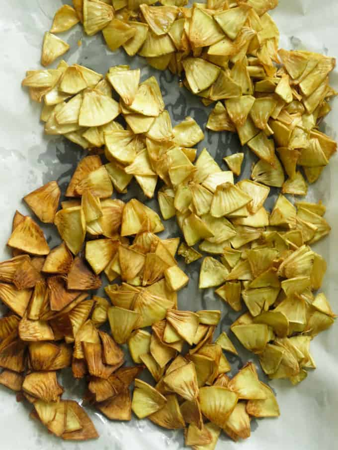 fried breadfruit chips