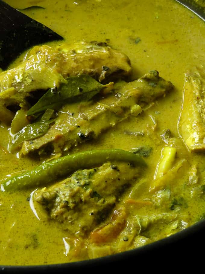 canned pepper fish curry.
