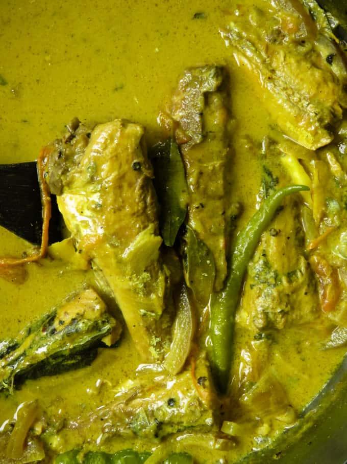 Jack mackerel pepper fish curry(Sri Lankan).