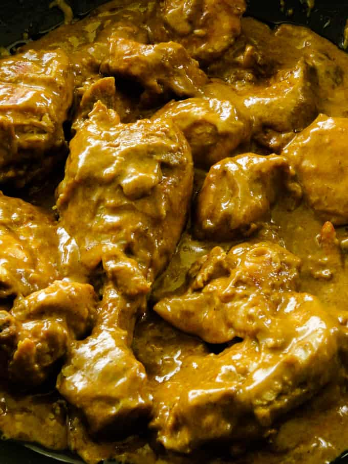 Indian chicken curry image