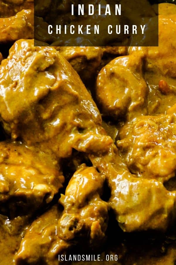 Easy to make, try this Indian chicken curry recipe with garam masala and whole spices and cooked in a yogurt tomato base for gravy.