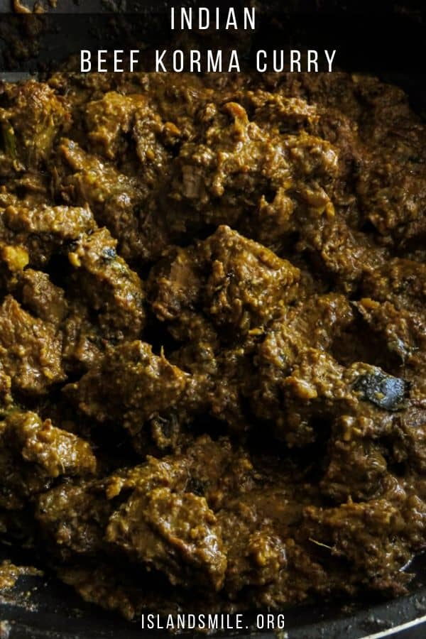 Why would you make this Beef korma curry? Well first, I promise you it's the second-best beef curry(the best goes to my grand mother's beef curry)you'll ever make and it's a meat dish you'll be preparing more than once.