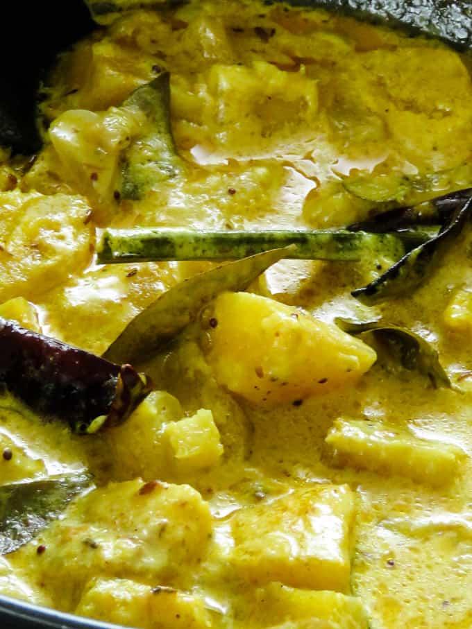 manioc curry