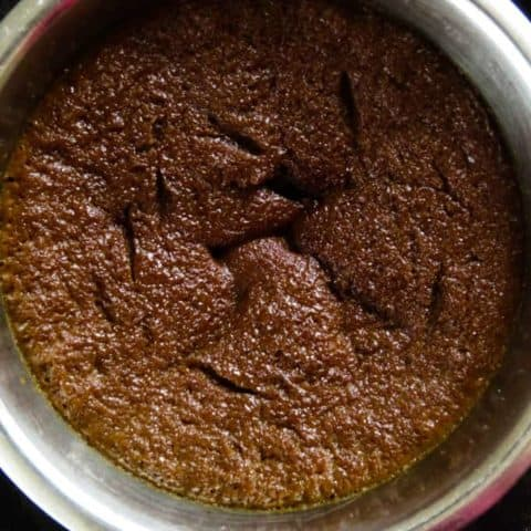 Watalappan(coconut jaggery steamed pudding).