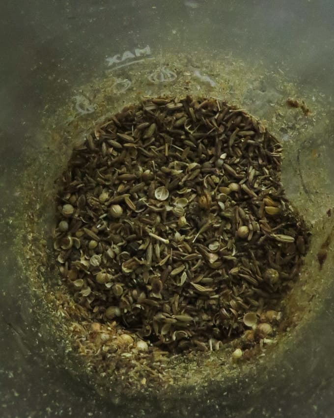 rasam powder spices .