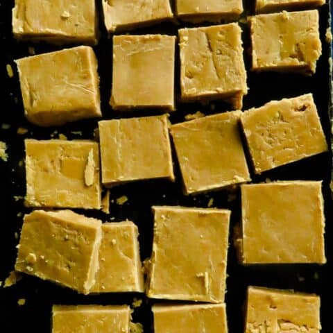 Condensed Milk Fudge(Milk Toffee)