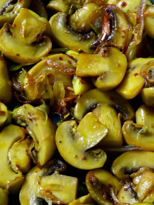 Sauteed Mushroom and onions.