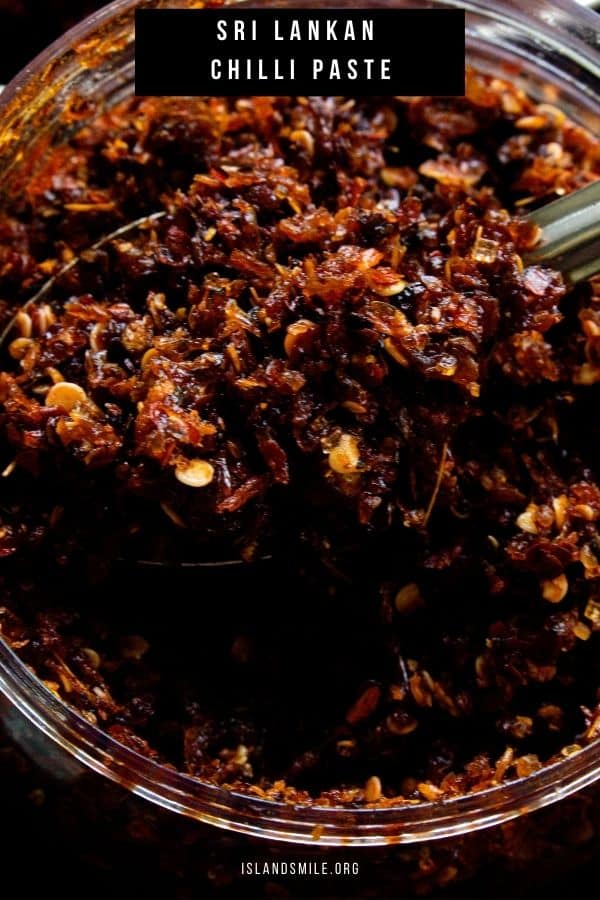Chili/chilli paste that spicy side condiment you add to your chinese fried rice just to make it extra spicy.