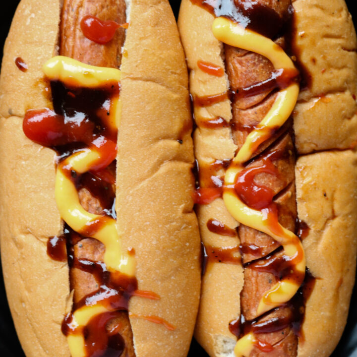 Easy Air fryer hot dogs
